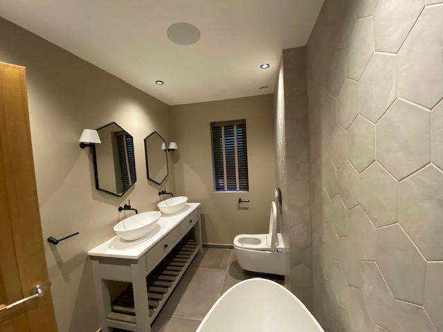 Sevenoaks project bathroom